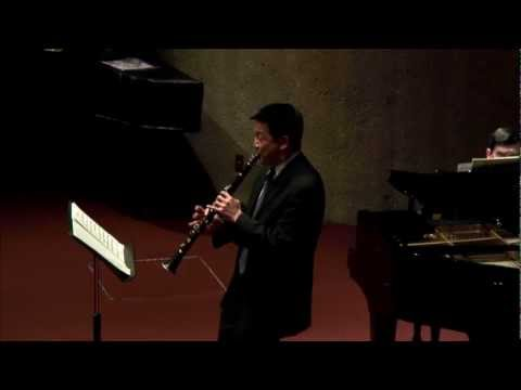 Burt Hara - Muczynski - Time Pieces for Clarinet and Piano, Op. 43 - I - Allegro risoluto