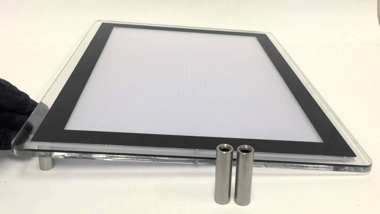 ultra thin led light box for tattooing drafting more. Black Bedroom Furniture Sets. Home Design Ideas