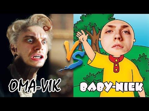 OMA-VIK vs. BABY-NIEK! (Granny Simulator)