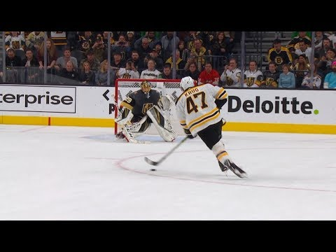 Bruins and Golden Knights take it to a shootout