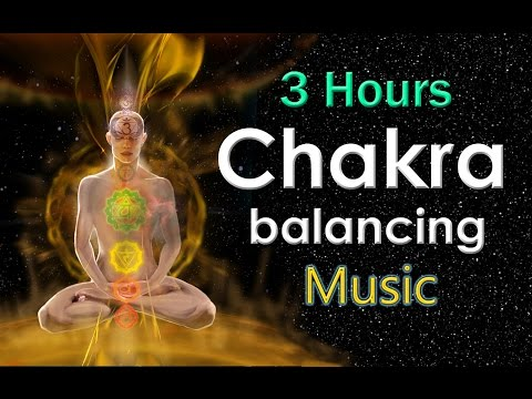 2 HOURS Chakra Balancing Healing Music - Aura Cleaning Music with Earth Resonance Frequency