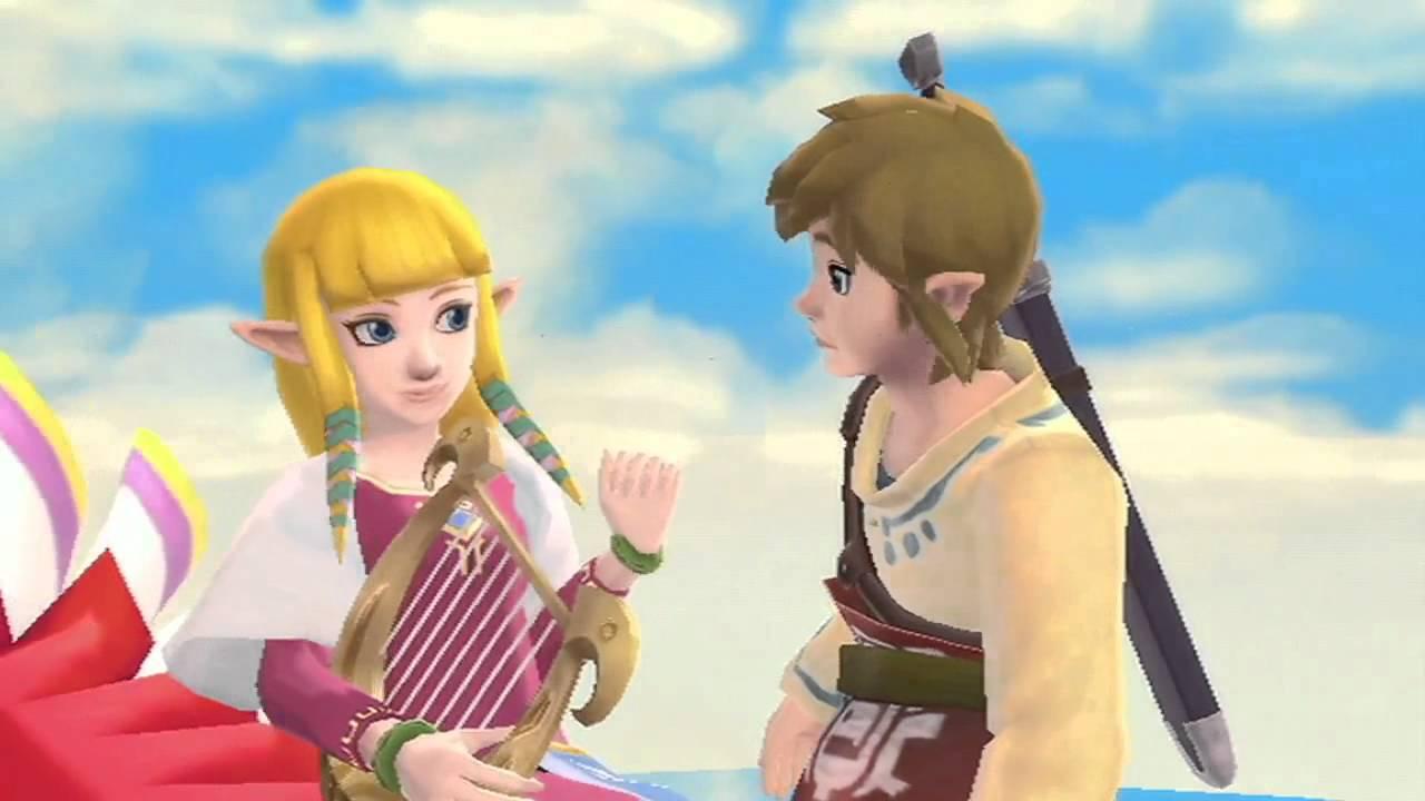 Zelda: Skyward Sword - Romance Trailer (featuring Link and ...