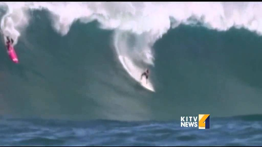 Wave cinematographer captures surfer's last wave