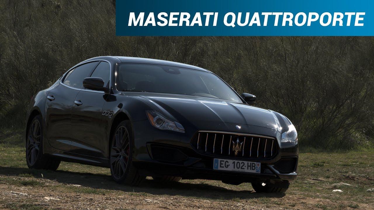 Célèbre Prueba Maserati Quattroporte / Test y review de coches de El  KG15