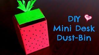 Mini | DIY | Desk Dustbin