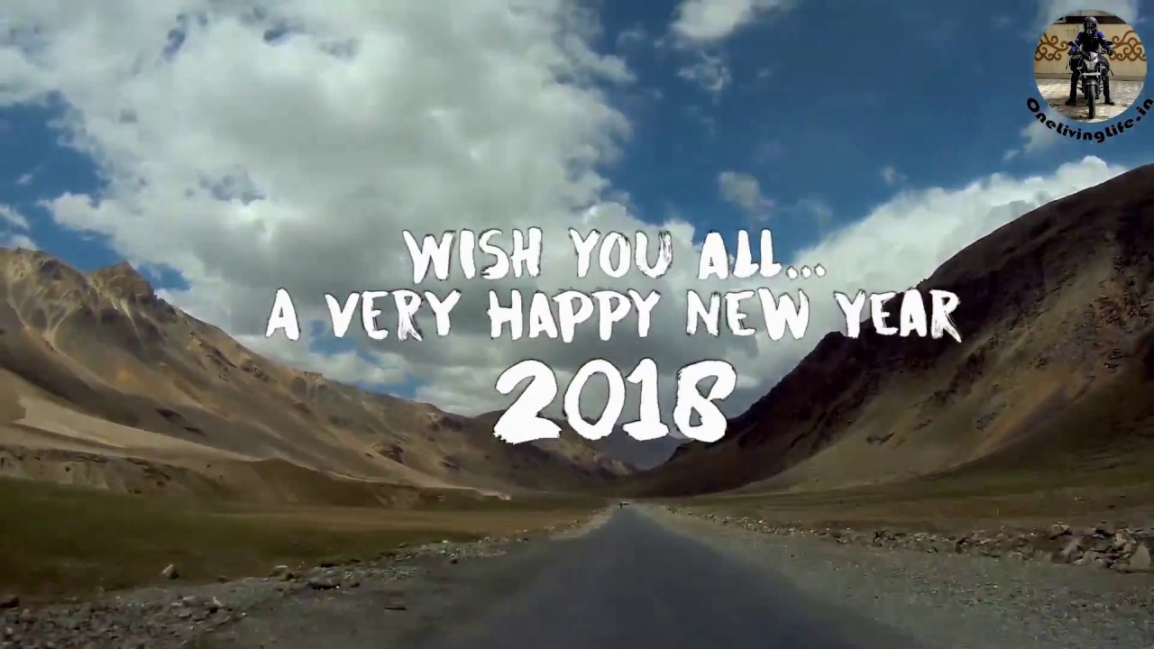 my year 2017 wish you a very happy new year 2018