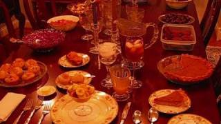 Betty's Thanksgiving Dinner Table, 2010