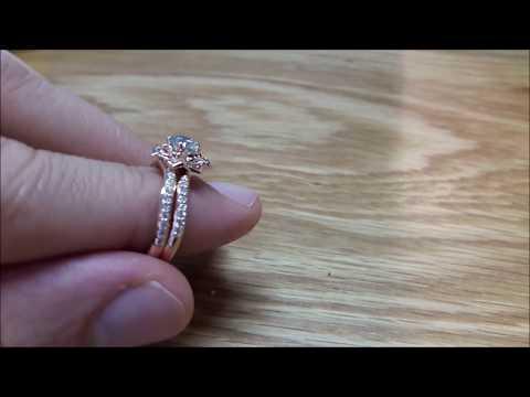 0.40 ct Rose Gold Diamond Engagement Ring