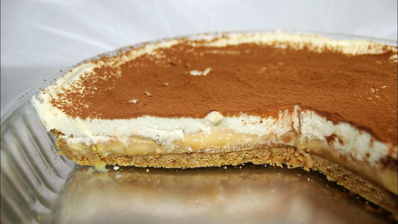 Banoffee Cheese Pie