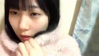 프로듀스48에 출연했던 타나카 미쿠(田中 美久)의 2019년 2월 10일자 쇼...