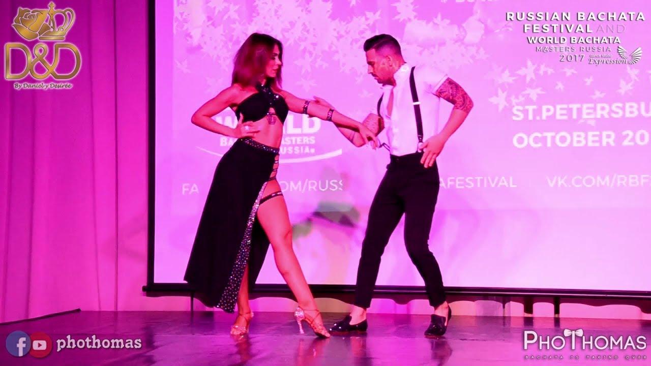 Daniel Y Desiree Desnudos At Russian Bachata Festival 2017