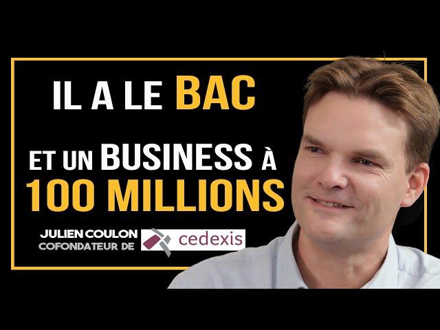 Une entreprise à 100 MILLIONS avec seulement un bac ?! - Julien Coulon (interview complète)