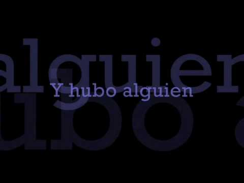 Y Hubo Alguien / Marc Anthony / with Lyrics