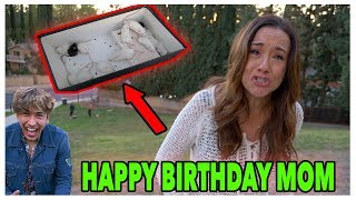 RATS in my MOMS Birthday Present! (SHE CRIED)
