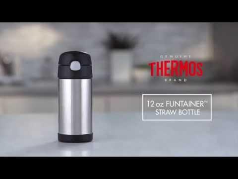 最新款美國膳魔師Thermos 不鏽鋼保溫(冷)瓶吸管式水壺水杯12Oz 355ml Pokemon 寶可夢精靈 皮卡丘