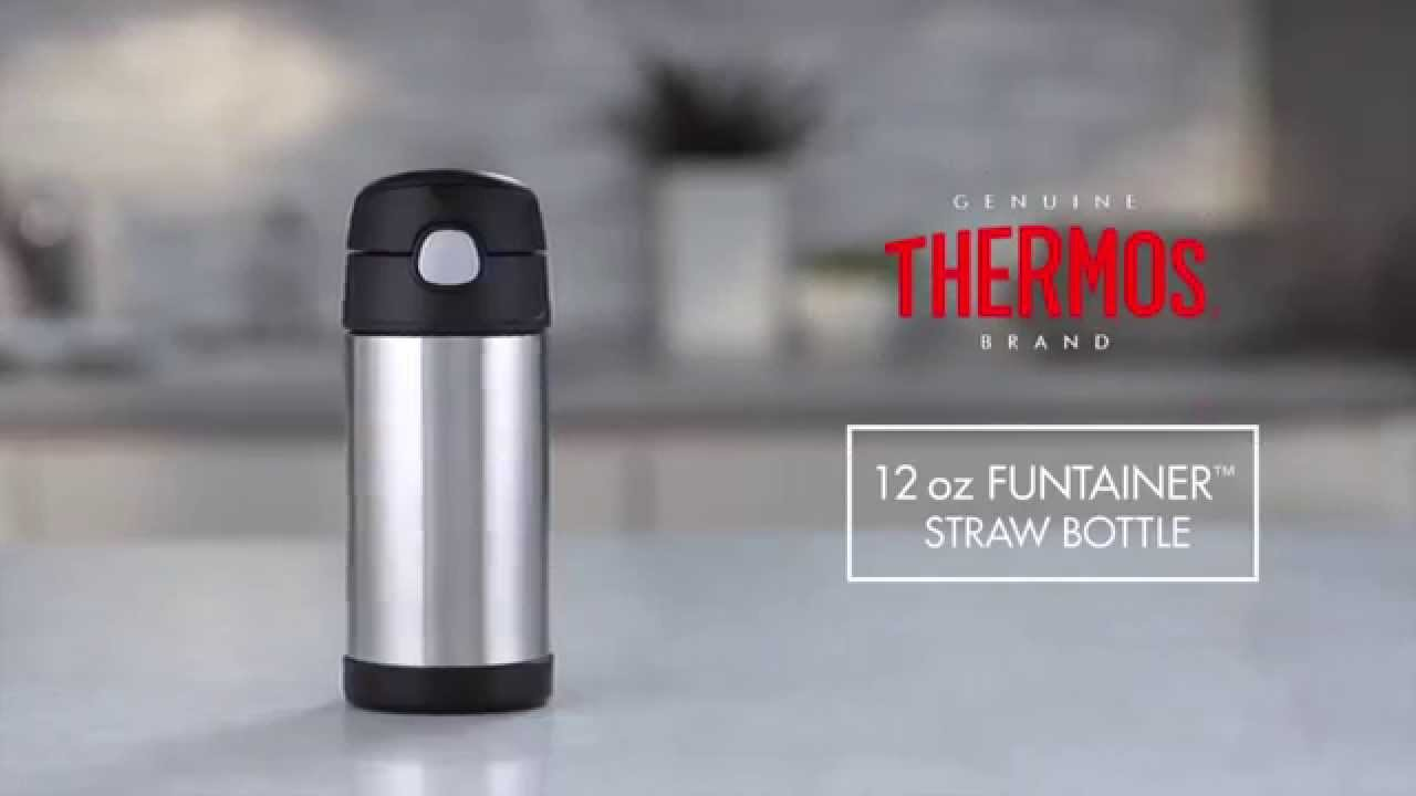 12 Oz Vacuum Insulated Funtainer Bottle Youtube