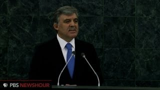 Watch Turkish President Abdullah Gül address the UN General Assembly