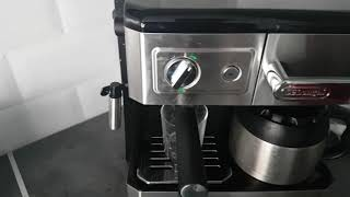 delonghi bco 420.1 review coffee machine espresso latte