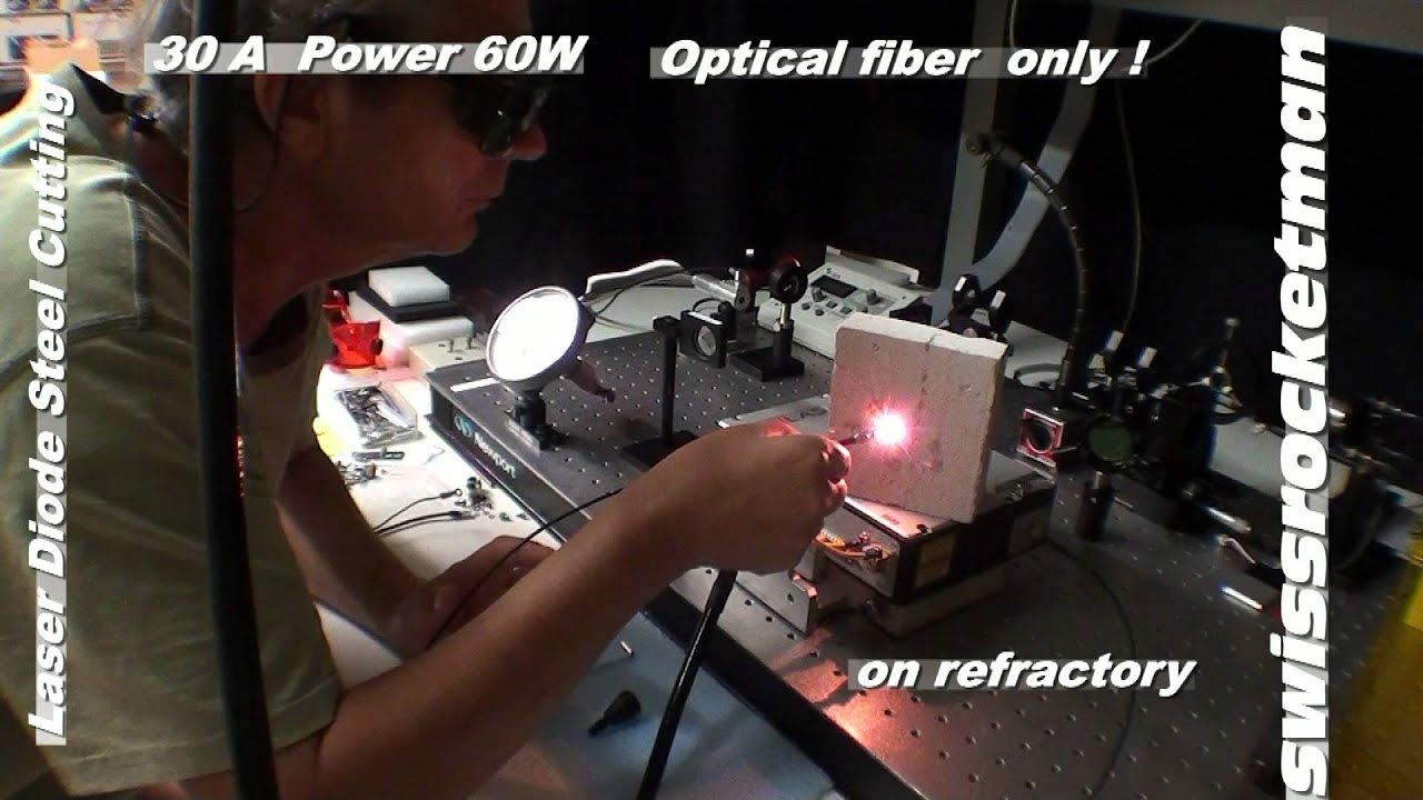Laser Diode Steel Cutting Mp4 Youtube