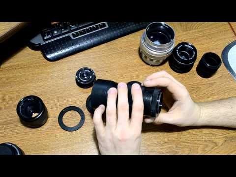 Обзор переходников на М42 для Nikon + мнение по советским объективам часть 1