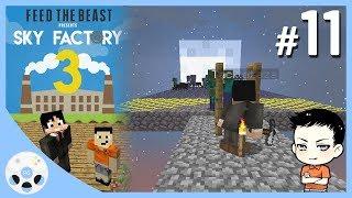 จุดเกิดยามวิกาล - มายคราฟ Sky Factory 3 #11