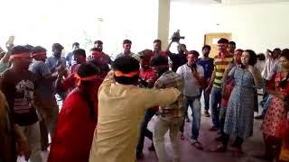Ganesh  nimarjanam grand  celebrations in l Studio N news Channel 2017...