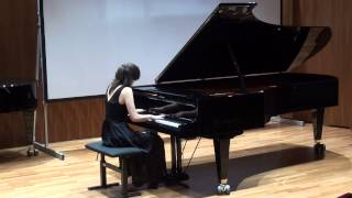 Chopin sonata no 2 Grave-doppio movimento performed by Berta Brozgul