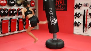 Jasmine Parr - Free Standing Punching Bag Workout   Punch Equipment®