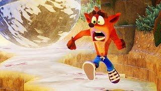 CRASH BANDICOOT Remastered 23 Minutes Gameplay PS4 2017