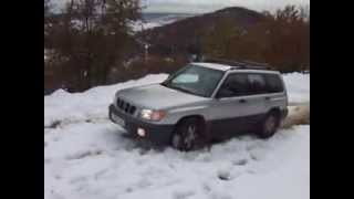 subaru forester off road , stb off road, subaru forester off road in snow