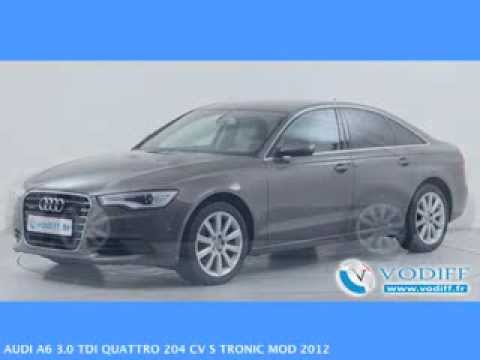 vodiff audi occasion alsace audi a6 3 0 tdi quattro 204 cv s tronic mod 2012 youtube. Black Bedroom Furniture Sets. Home Design Ideas