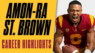 USC Football - Amon-Ra St. Brown Career Highlights