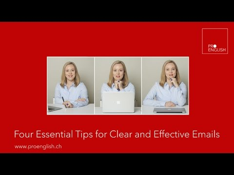 Four Essential Tips for Clear and Effective Emails