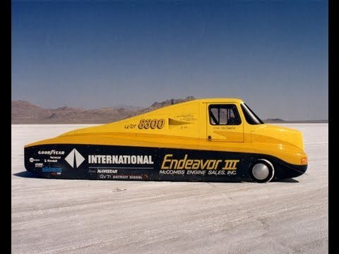 Endeavor Land Speed Record