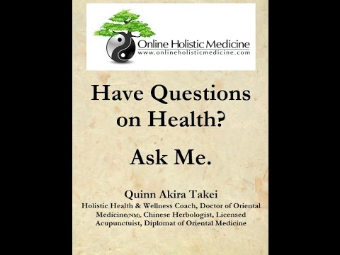 Have a Question on Health & Healing? Ask Me! | Online Holistic Medicine