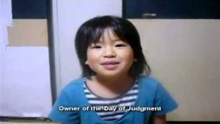 Little  Japanese Girl reciting Qu'ran MUST SEE !