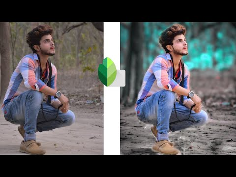 Snapseed Blue Background Best Photo Editing Tutorial In Pixlr Editor