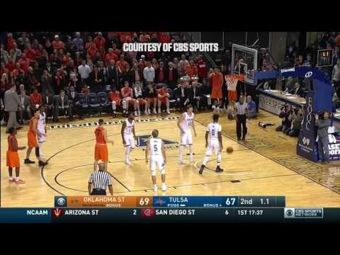 Cowboy Basketball: Top 4 Plays vs Tulsa