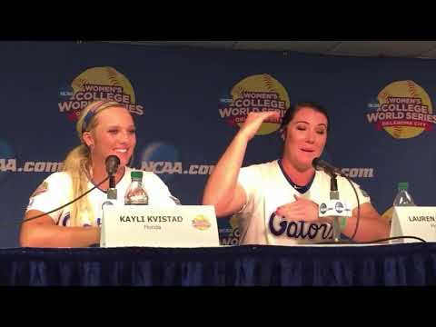 WCWS: Florida coach and players talk about Billy Donovan
