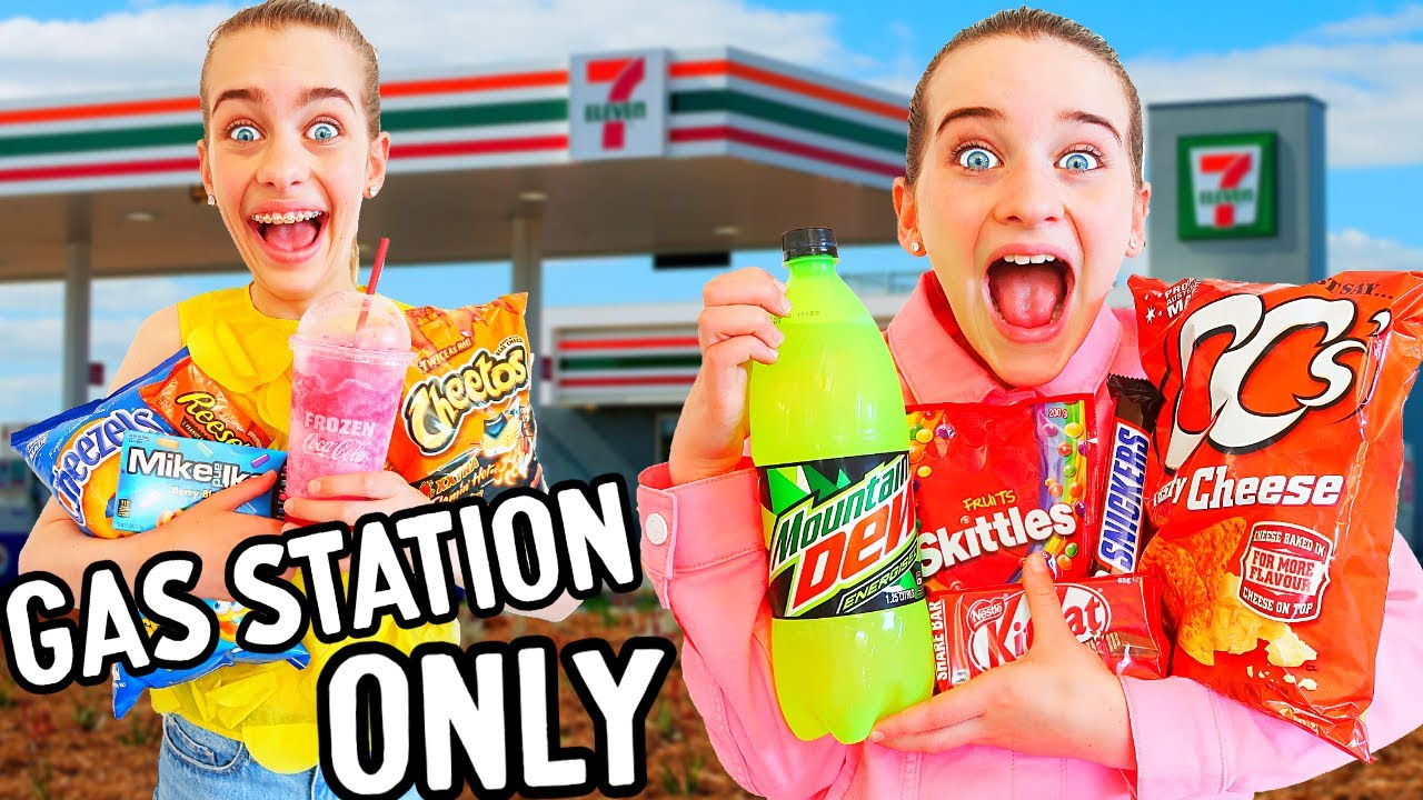 Download ONLY EATING GAS STATION FOOD FOR 24hrs w/The Norris Nuts