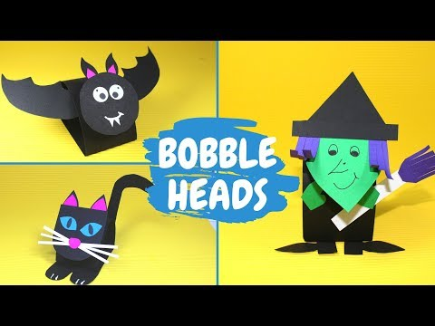Halloween Bobble Head Craft Combo | Halloween Crafts for Kids