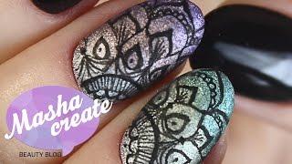 видео Простые рисунки лаком на ногтях: лайнеры для нейл-арта