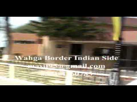 Wagha Border Visit to India From Lahore Pakistan by on foot