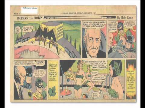 Batman and Conrad Hilton