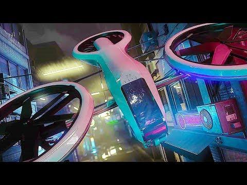 Crytek Noir - CRYENGINE Based Real-Time Raytracing 4K Demo AMD/Nvidia (2019)