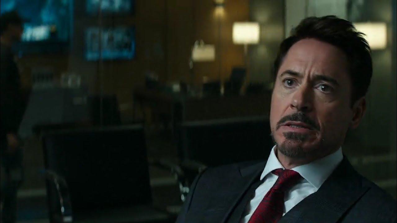 """Download """"Tony vs Steve"""" argument scene in Hindi ⚡⚡⚡ ( Captain America civil war)"""
