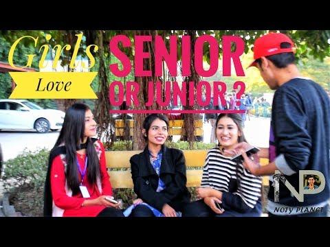 What Do Girls Prefer Senior Or Junior ?