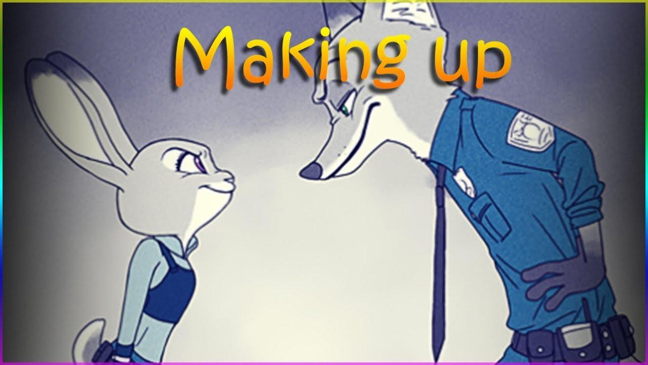 Zootopia Comic - Making up