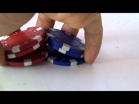 [HD] Poker Chip Shuffle Tutorial