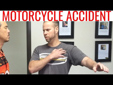 Motorcycle ACCIDENT messed life up. REAL chiropractic solved his issues where others FAILed